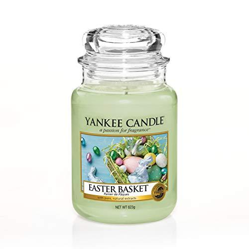 Yankee Candle candela profumata in giara grande, Cestino di uova di Pasquaa