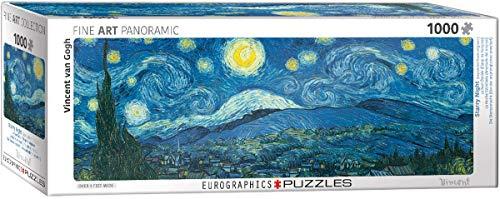 Eurographics 6010–5309Starry Night Panorama Van Gogh Puzzle da Pezzi