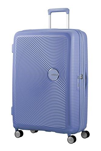 American Tourister Soundbox Spinner Espandibile Bagaglio A Mano, 4.2 Kg, Blu (Denim Blue),Spinner...