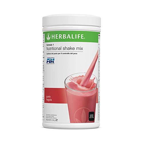 Herbalife Formula 1 Batido nutricional - Comida sana para perder de peso - FRESA - 550g