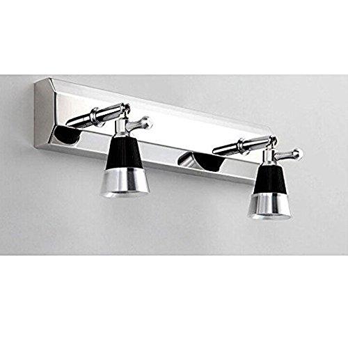 Jorunhe Moderne 6 Watt LED Lampen Wandleuchte Badezimmer Licht Tisch Spiegel Lampe Decor 2 Kopf Warmes