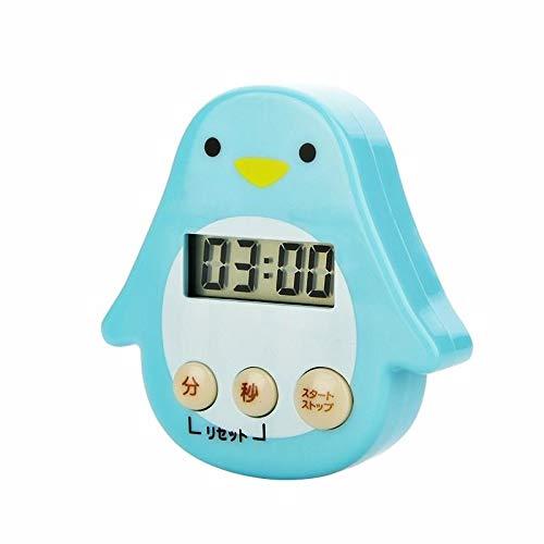 LOV Cottura Conto alla Rovescia Promemoria Cronografo Elettronico Timer da Cucina Studente Studente Forte Timer Pinguino