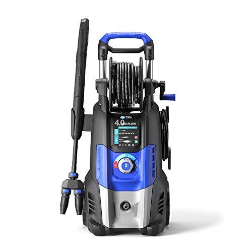 AR Blue Clean 4.0 Twin Flow Idropulitrice ad Alta Pressione, Blu