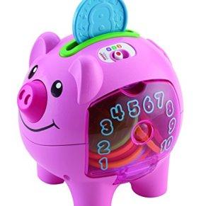 Fisher-Price Smart Stages - Hucha de Juguete Educativo electrónico para bebés con Canciones y Frases y Luces para…