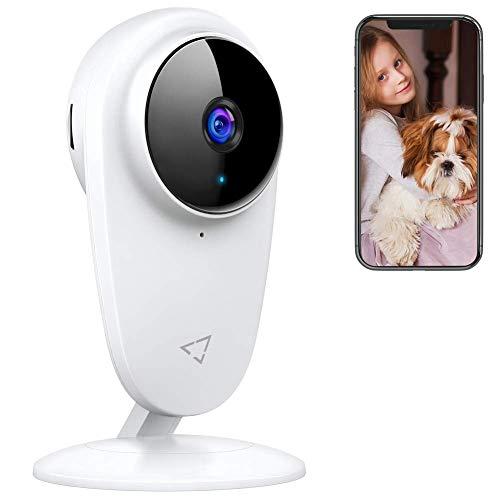 Telecamera di Sorveglianza WiFi, Victure Baby Monitor, Telecamera per Bambini e per Animali Domestici, Telecamera Interna con Visione Notturna e rilevazione di movimento con Audio Bidirezionale