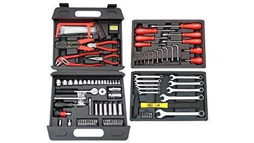 Famex Universal Werkzeugkoffer, 163-teilig, 253-70