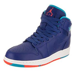 Jordan Air 1 Retro High (Kids) Blue 41ffKX7HN L