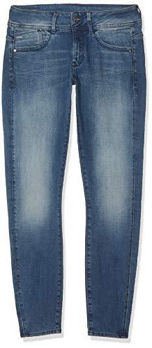 G-STAR RAW Damen Lynn Mid-Waist Skinny Jeans, Blau (Antic Blue...
