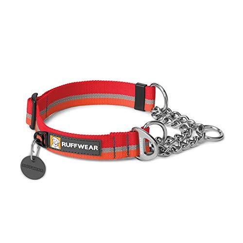 Ruffwear - Chain Reaction Collar, Color kokanee Red, Talla L / 51-66 cm