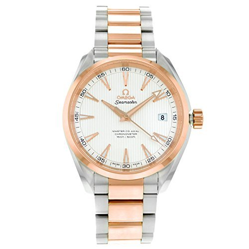 Omega Aqua Terra 231.20.42.21.02.001Stahl & Rose Gold automatische Herren-Armbanduhr von Omega