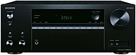 Onkyo TX-NR575E(B) 7.2 Kanal AV Receiver (135 W/Kanal, Multiroom, Heimkino, Dolby/DTS:X, WLAN, Bluetooth, Streaming, Musik Apps, Spotify, Tidal, Deezer, Internetradio), Schwarz