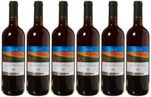 Librandi Vino Cirò Rosso Classico Doc - 2018 - 6 Bottiglie da 750 ml