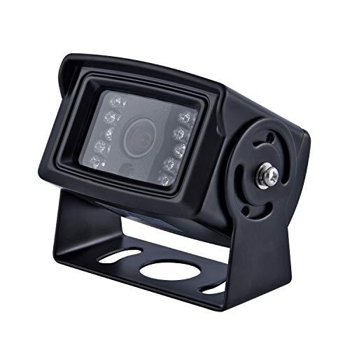 WILDKEN Telecamera per Retromarcia Auto Impermeabile IP69 e Cavo Video 32ft per Camper, Camion, Rimorchi, Autobus