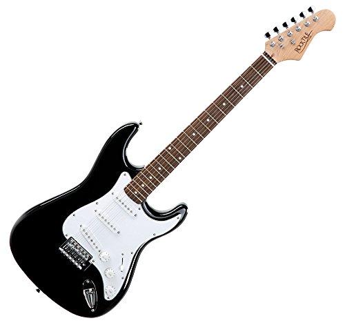 Rocktile-19331-Pack-guitarra-elctrica-Banger-7-piezas-color-negro