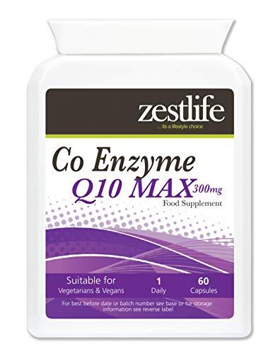 Zestlife coenzima Q10 (CoQ10) capsule 300mg alto assorbimento.