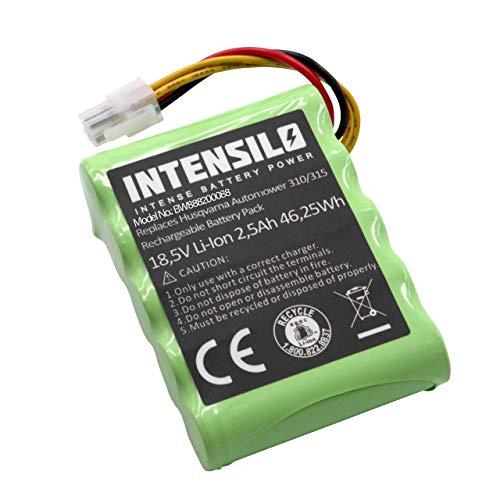 INTENSILO Li-Ion batería 2500mAh (18.5V) para cortacésped Robot cortacésped Husqvarna Automower 310 Modell 2018, 315 Modell 2015, 315 Modell 2016