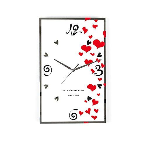 Orologio da parete heart, da 25X40 cm