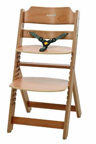 Safety 1st Timba Seggiolone in legno con davantino (naturale)