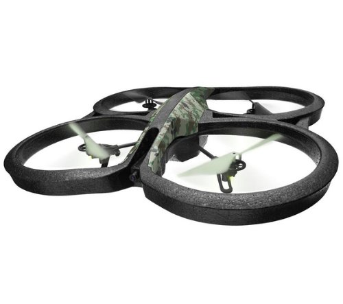 Parrot AR Drone 2.0 Quadrocopter (geeignet für Android/Apple Smartphones/Tablets) jungle