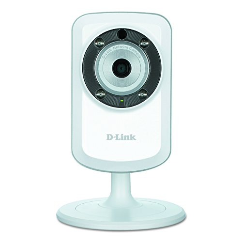 D-Link DCS-933L Wireless Day/Night Network Camera with mydlink-Enabled and Built-In WiFi Extender (White)