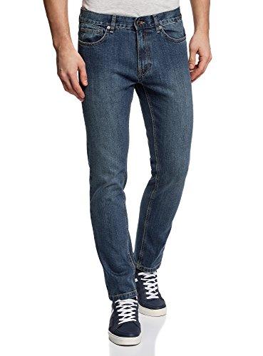 oodji-Ultra-Herren-Jeans-Basic-mit-Normalem-Bund