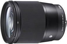 Sigma 16 mm F1.4 DC DN Contemporary - Objetivo para Sony E, Color Negro