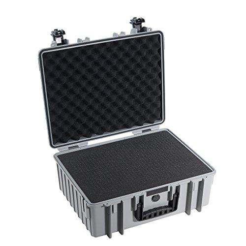 B&W outdoor.cases Typ 6000 mit Würfelschaum (SI) - Das Original