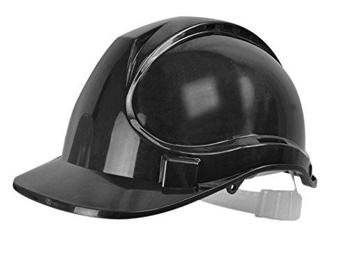 Scan - Casco de seguridad, color negro