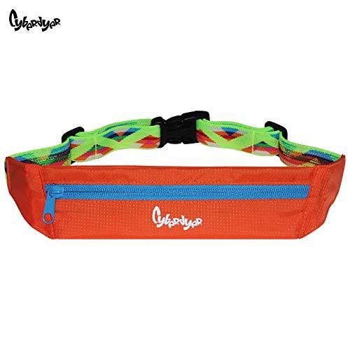 CyberDyer cintura da corsa: adulto originale tasca–Cintura da corsa per corridori, atleti e...