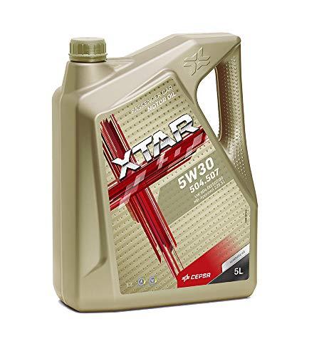 CEPSA 513943077 XTAR 5W30 504.507 Lubricante Sintético para Vehículos Gasolina y diésel
