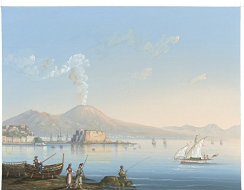 Napoli puzzle collection 'Gouache dell'800' pz. 1080 Dimensioni 50x70