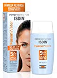 ISDIN Fotoprotector Fusion Water SPF 50 | Fotoprotector facial de fase acuosa para uso diario | Textura ultra ligera | 50ml