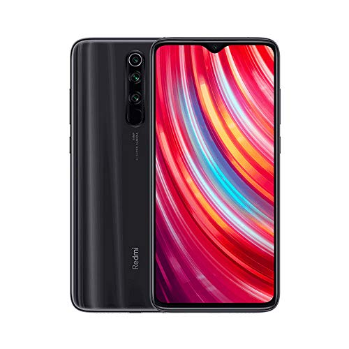 """Xiaomi Redmi Note 8 Pro Teléfono 6GB RAM + 128GB ROM, Pantalla Completa de 6.53"""", CPU MTK Helio G90T Octa-Core, 20MP Frontal y 64MP AI Cuatro Cámara Trasera Móviles Versión Global (Negro)"""