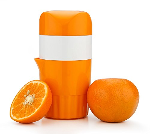 Orange & Citrus Hand Juicer 100% Output Satisfaction Guaranteed New Design Manual Juicer (orange color) Limited Time Introductory Offer