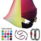 E-Bestar - Juego de sedas para Antena de Yoga y Yoga, Multi Color-C