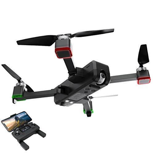 Ching Drone con Telecamera Videocamera Pieghevoli Telecomando per Droni Radiocomandati Telecamere L'Allenamento,Black
