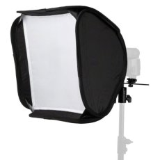 Walimex 16784 - Ventana de luz (40 x 40 cm), negro y blanco