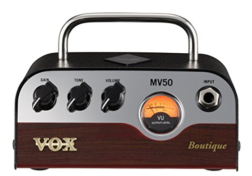 VOX MV50 50W Nutube Guitar Amplifier Head - Boutique