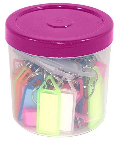 RaJTM Multicolor Keyring & Keychain(Pack of 50)