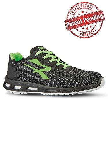 Upower Strong S3 SRC, Sneaker di Sicurezza Unisex-Adulto, (Vert 000), 42 EU