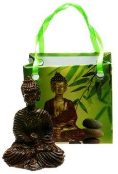 Thai de figura de Buda en bolsa de regalo