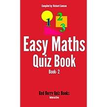 Easy Maths Quiz: Book 2