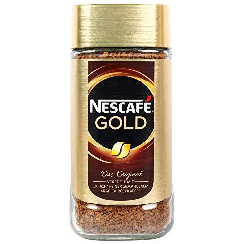 Nescafe Gold Blend Coffee Golden Roast, 200 g 4