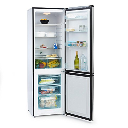 Klarstein Big Mommy Cool Frigorifero Combinato Frigo-Congelatore Classe A++ (60 x 187 x 60 cm, 300...