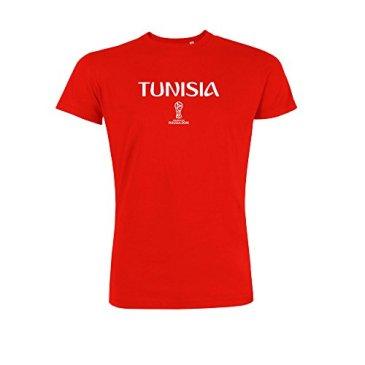 2018 FIFA World Cup Russia T-Shirt Tunisia-2X Lar