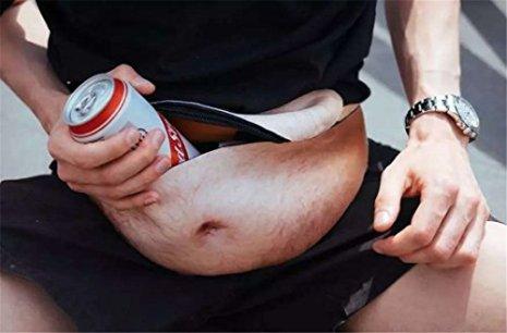 Jumrun-Unisex-Bauchtasche-Neuheit-Bauch-Taille-Taschen-lustige-Tasche-fr-Kasse-Telefon-Zubehr-mit-verstellbarem-Band