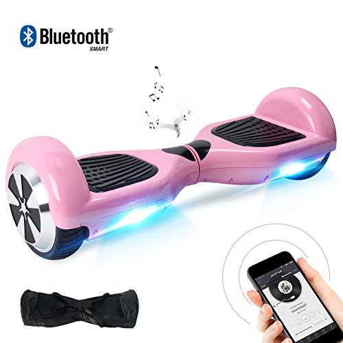 BEBK Hoverboard 6.5' Smart Self Balance Scooter Autobilanciato Skateboard con 2 * 250W Motore, LED,...