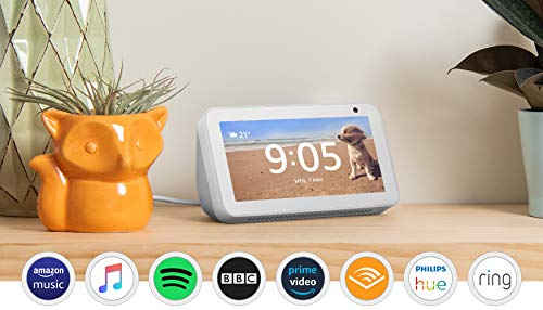 Introducing Echo Show 5 - Compact smart display with Alexa, White 9  Introducing Echo Show 5 – Compact smart display with Alexa, White 41i5et7CgPL