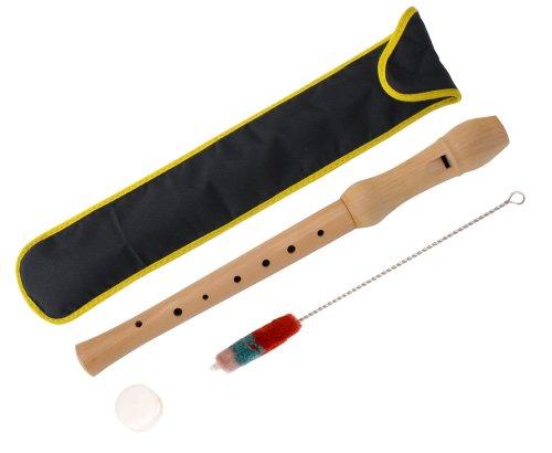 Flauta de madera digitación alemana