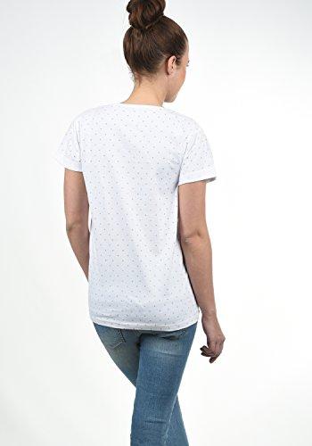 DESIRES Starlet Damen T-Shirt Kurzarm Shirt mit Print und Rundhalsausschnitt Aus 100% Baumwolle, Größe:XS, Farbe:Light Grey (2325) - 5